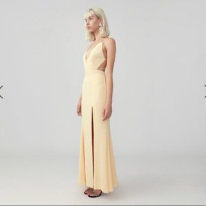 Fame and Partners Double Strap Mermaid Dress